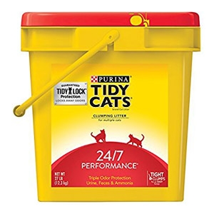 Tiday Cats 24/7 Performance Odor Control Cat Litter 27 lb. Pail