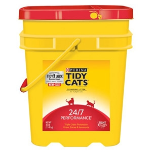 Tiday Cats 24/7 Performance Odor Control Cat Litter 35 lb. Pail