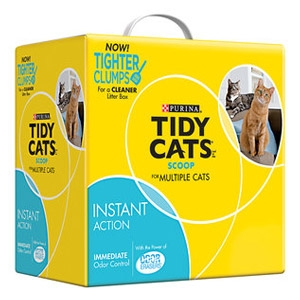 Tidy Cats Instant Action Non-Clumping Cat Litter 40 lb. Box