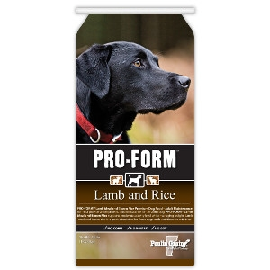 PRO-FORM Lamb & Rice Premium Dog Food