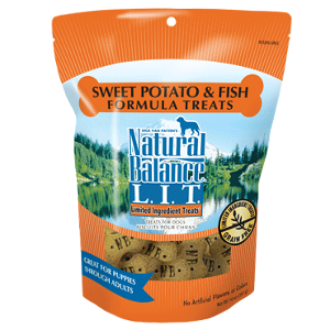 L.I.T. Limited Ingredient Treats® Sweet Potato & Fish Formula