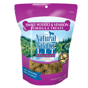 L.I.T. Limited Ingredient Treats® Sweet Potato & Venison Formula