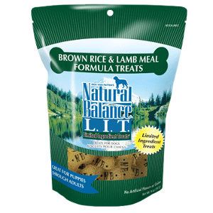 L.I.T. Limited Ingredient Treats® Brown Rice & Lamb Meal Formula