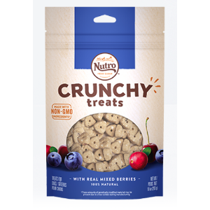 NUTRO Crunchy Treats with Real Mixed Berries