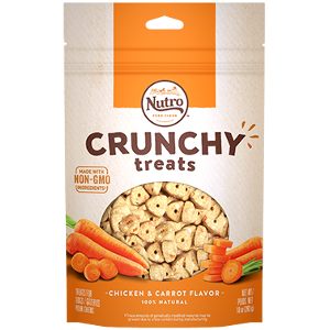 NUTRO Crunch Treats with Chicken & Carrot Flavor