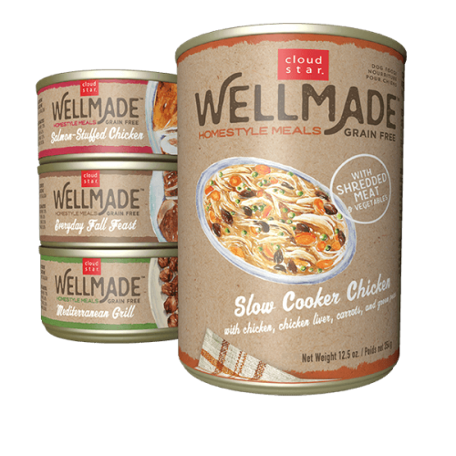 Buy 1 Get 1 Free NEW Wellmade Cans Dog Food