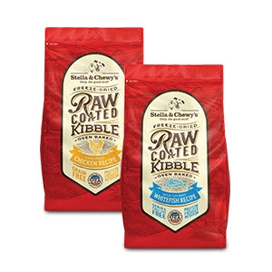 Save on Stella's Raw Coated Baked Kibble