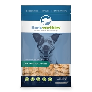 Barkworthies Sweet Potato Chips- Buy 1, Get 1 Free