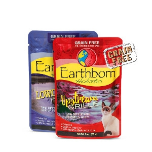 New Earthborn Cat Pouches- Buy 2, Get 1 Free