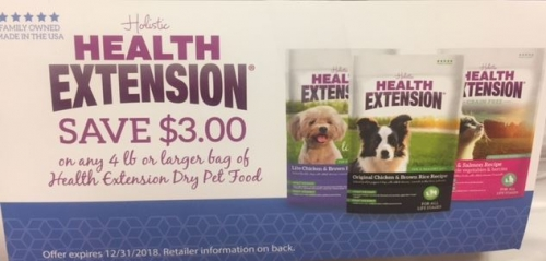 Health Extension Pet Food Savings