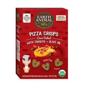 Earth Animal Farmer's Pizza Crisps Tomato & Olive Oil Treats