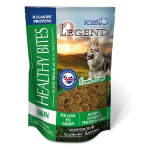 Legend Healthy Bites Skin Icelandic Sea Salmon Treats