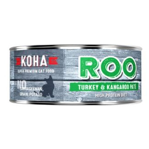 Koha Turkey and Kangaroo Pate Wet Cat Food