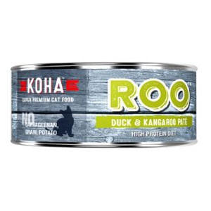Koha Duck andKangaroo Pate Wet Cat Food