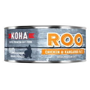 Koha Chicken and Kangaroo Pate Wet Cat Food