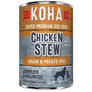 Koha Chicken Stew Wet Dog Food