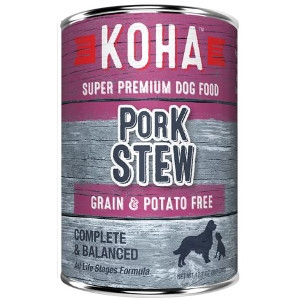 Koha Pork Stew Wet Dog Food