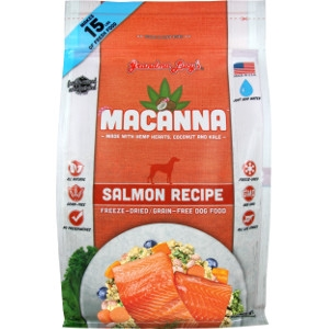 Grandma Lucy's Macanna Salmon Freeze-Dried Graind-Free Dog Food