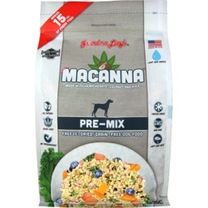 Grandma Lucy's Macanna Pre-Mix Freeze-Dried Graind-Free Dog Food