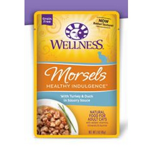 Wellness Healthy Indulgence Morsels Turkey & Duck 3 oz.