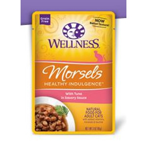 Wellness Healthy Indulgence Morsels with Tuna in Savory Sauce 3 oz.