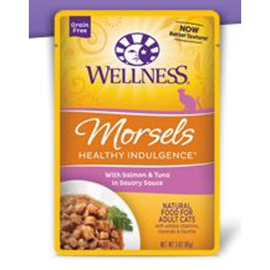 Wellness Healthy Indulgence Morsels with Salmon & Tuna in a Savory Sauce 3 oz.