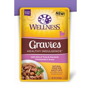 Healthy Indulgence® Gravies with Bits of Tuna & Mackerel Smothered in Gravy 3 oz.