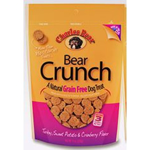Charlee Bear Crunch Turkey, Sweet Potato, & Cranberry Flavor