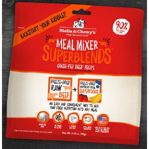Stella & Chewy's Meal Mixers Superblends Beef 16 oz.