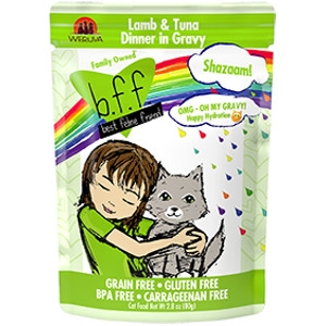 B.F.F. Shazaam! Lamb & Tuna Dinner in Gravy 2.8 oz. Pouch