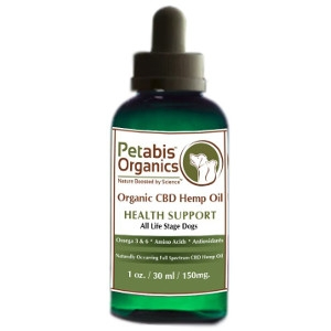 Petabis Organic Hemp Oil 150mg