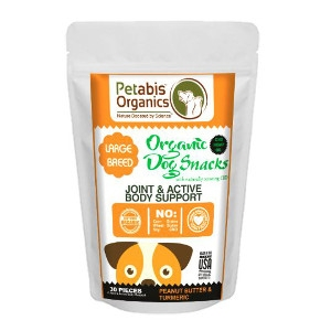 Petabis Organics Joint and Body Support treats 30ct.