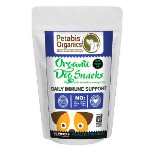 Petabis Organics Daily Health Support treats 30ct.