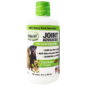 32oz. Liquid Vet Joint Advanced Chicken Flavor for Dogs