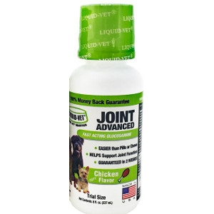 8oz. Liquid Vet Joint Advanced Chicken Flavor for Dogs