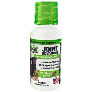 8oz. Liquid Vet Joint Advanced Pot Roast Flavor for Dogs