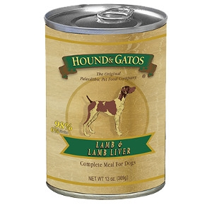 Hound and Gatos 98% Lamb 13oz. Can