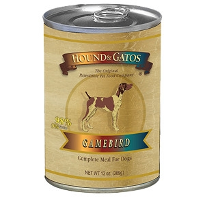 Hound and Gatos 98% Gamebird 13oz. Can