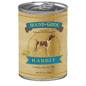 Hound and Gatos 100% Rabbit 13oz. Can