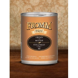 Fromm Chicken & Rice Pâté 12.2oz Dog Food
