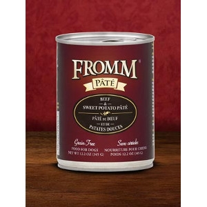 Fromm Beef & Sweet Potato Pâté 12.2oz Dog Food