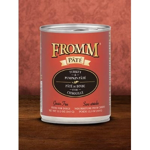 Fromm Turkey & Pumpkin Pâté 12.2oz Dog Food