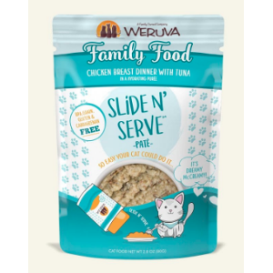 Weruva Slide & Serve Family Food Pate 5.5oz Pouch