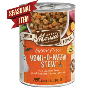 Merrick Grain Free Howl O' Ween Stew 12.7oz Can