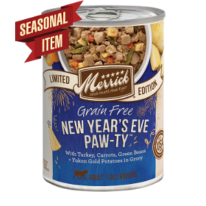Merrick Grain Free New Year's Eve Paw-ty 12.7oz can