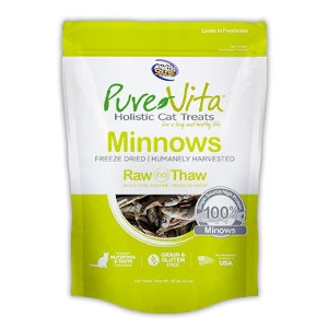 Pure Vita Freeze Dried Minnows Cat Treats