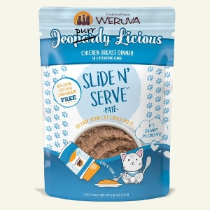 Weruva Jeopurrdy Licious Slide N Serve Pate 5.5oz