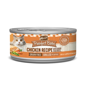 Merrick Purrfect Bistro Grilled Chicken and Vegetables 3/5.5oz can