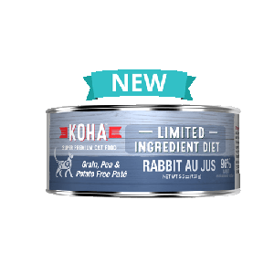 Koha Rabbit Pate 3oz Can Cat