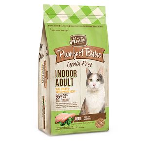 Merrick Purrfect Bistro Chicken and Sweet Potato Indoor Cat 4 & 7lb